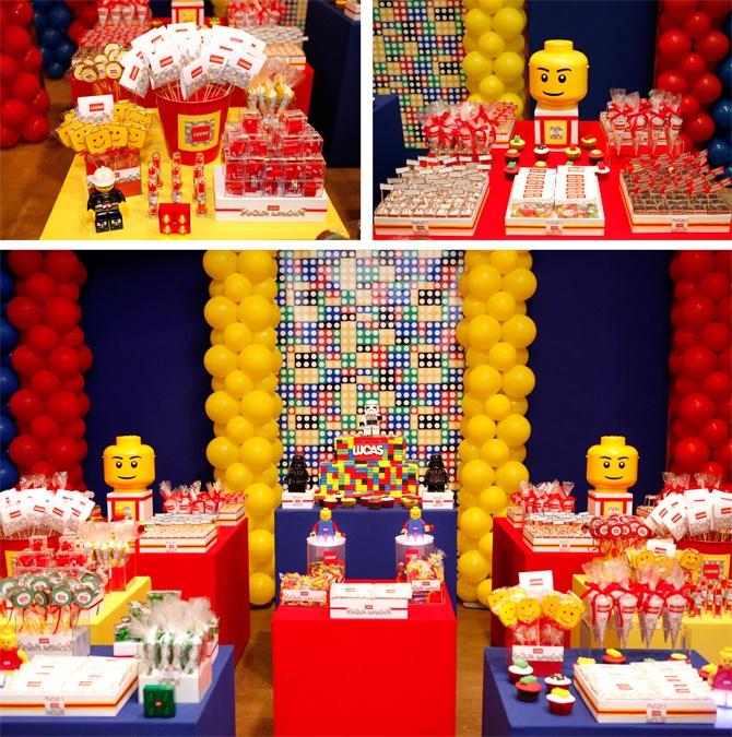 Baby Guide Festa Infantil: Decoração Lego para Meninos                                                                                                                                                                                 Mais