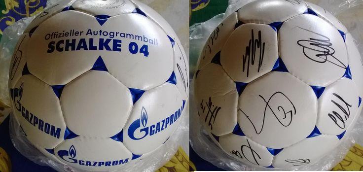 Autogramball Schalke 04