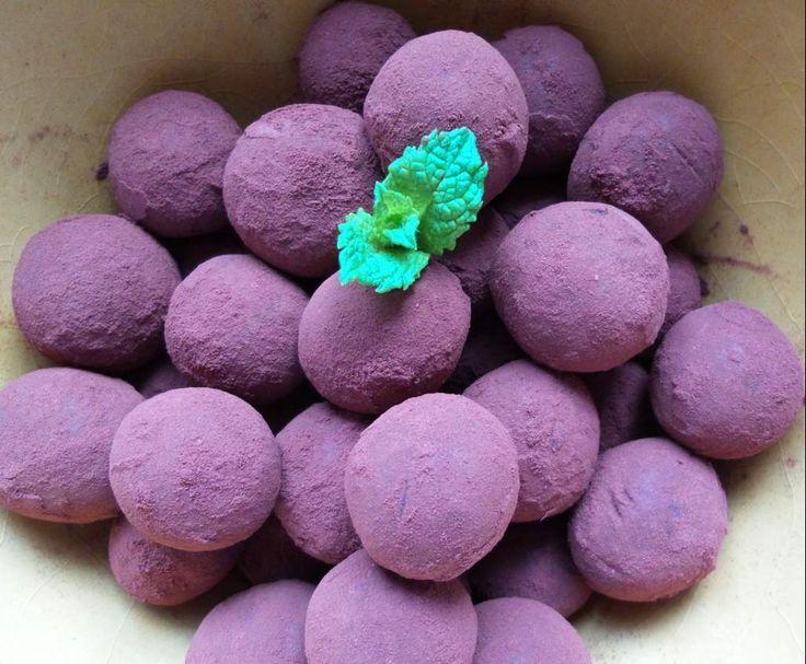 Rezept Orientalische Pralinen - vegan von sgrothe1 - Rezept der Kategorie Desserts