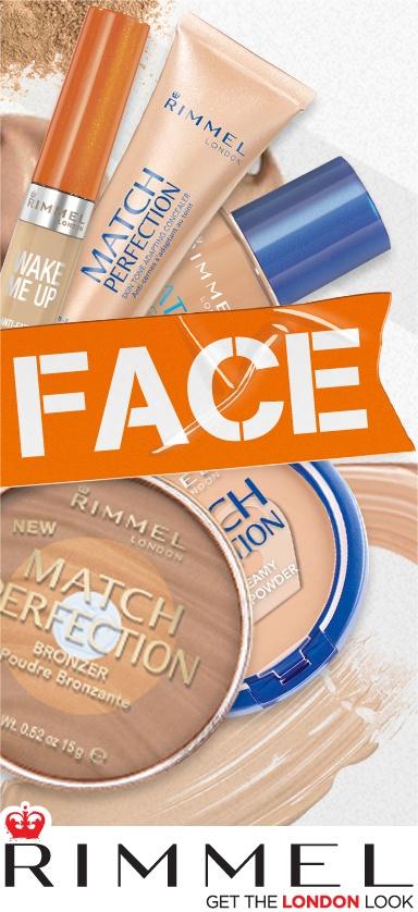 Rimmel face product range