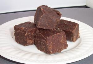 sugar-free fudge - Photo © Laura Dolson