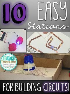 SSSTeaching: 10 Easy Stations for Building Circuits!