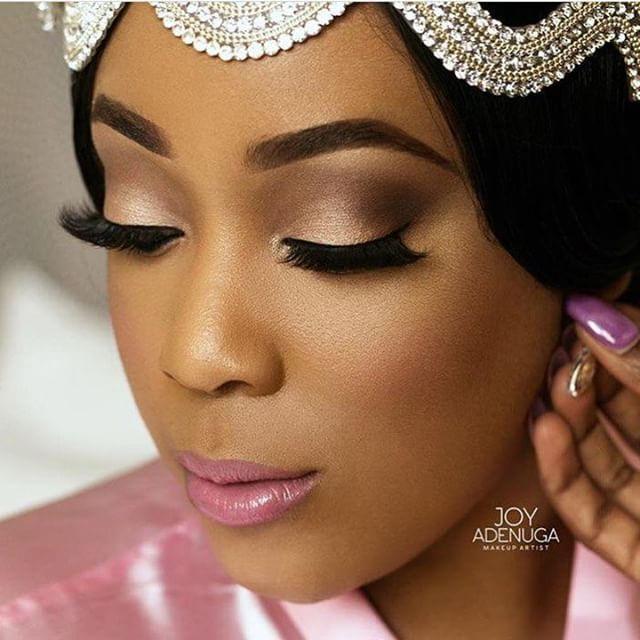 Everything! #AbsoluteBrilliant Makeup by @joyadenuga  #9naijaBrides