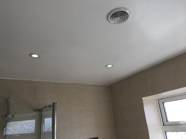 Bathrooms  @CollingwoodLED  H2 LED downlights  #electrician #localbusiness