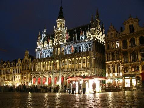 Brussels by night #belgium