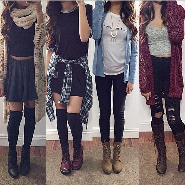 1,2,3, or 4? Double tap for these outfits from @jenanniee
