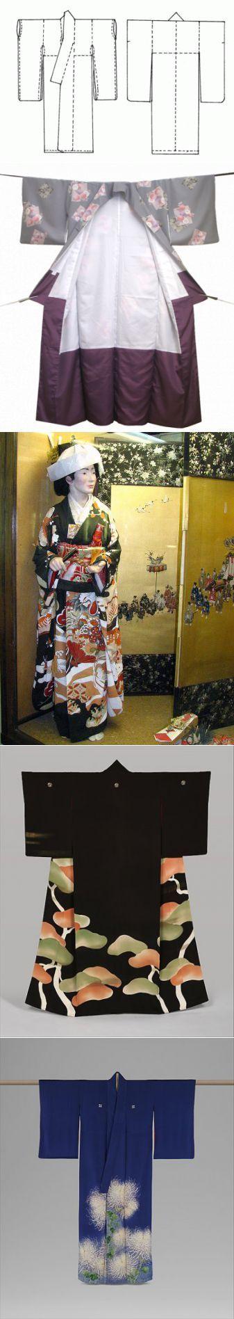 Как сшить японское халат - кимоно своими руками: выкройка и история со� | Hand…