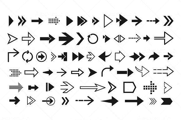 Set of Arrows by AlexMstudio on @creativemarket in 2020