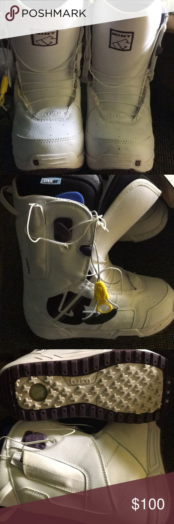 Burton snowboard boots Only worn once. Great condition. Burton Shoes