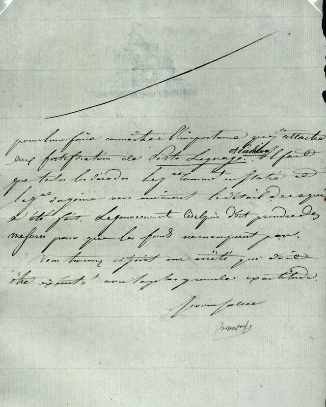 BONAPARTE NAPOLEON Letter Signed Unframed for sale