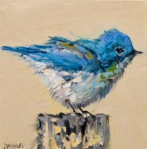 """Daily Paintworks - """"ARTOUTWEST DIANE WHITEHEAD BIR..."""" by Diane Whitehead"""