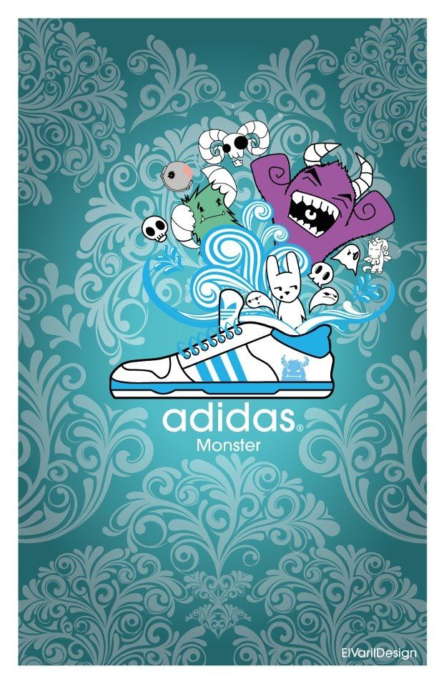 Ilustración, Adidas monster