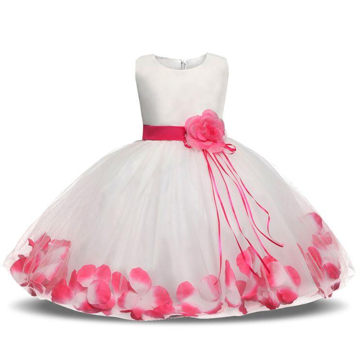 Baby Dress with Petals   Price: $13.46   #babies #pregnancy #kids #mommy #child #love #momlife #babygirl #babyboy #babycute #pregnant #motherhood #photography #photoshoot