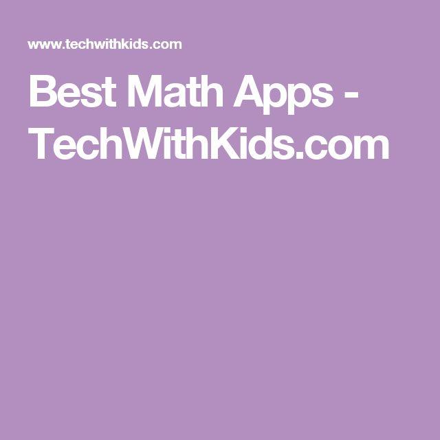 Best Math Apps - TechWithKids.com