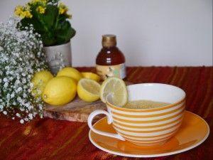 A honey and lemon cake in a mug courtesy of Mummy Makes Cakes blog.