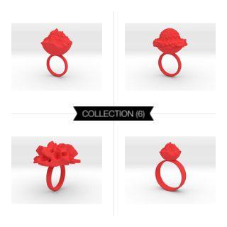 Intergalactic Red #3Dprint #3Dprintedjewelry #melinablazevicstudio #shapeways #3Dprinting #jewelry #intergalactic #exoplanets #iterativedesign #generativedesign #parametricdesign #design #productdesign #mesh #meshpattern #wireframe #fashion #fashiondesign