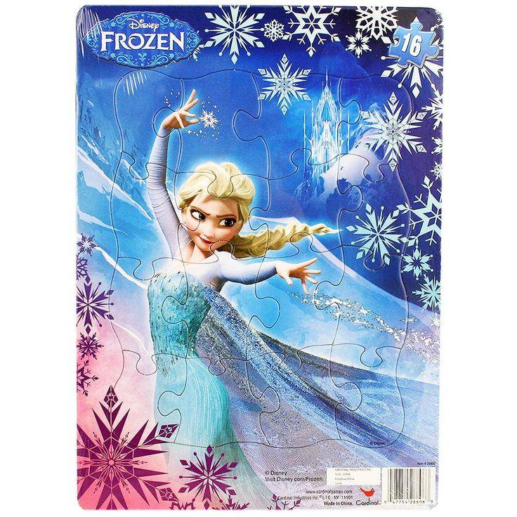 Disney Frozen Inlay Puzzle [16 pieces]