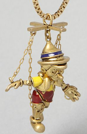 Disney Couture Jewelry The Pinnocchio Puppeteer... - DDK.
