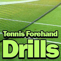 4 Great Tennis Forehand Drills - Best Tennis Drills #tennis #training #tennisdrills