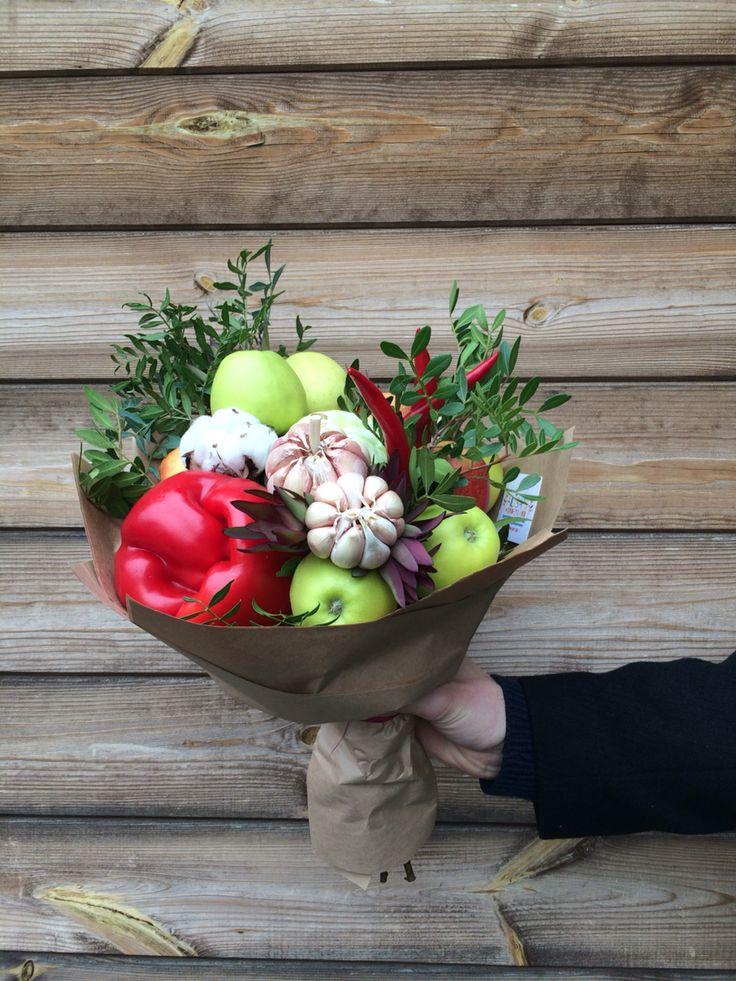 Fruit vegetable bouquet