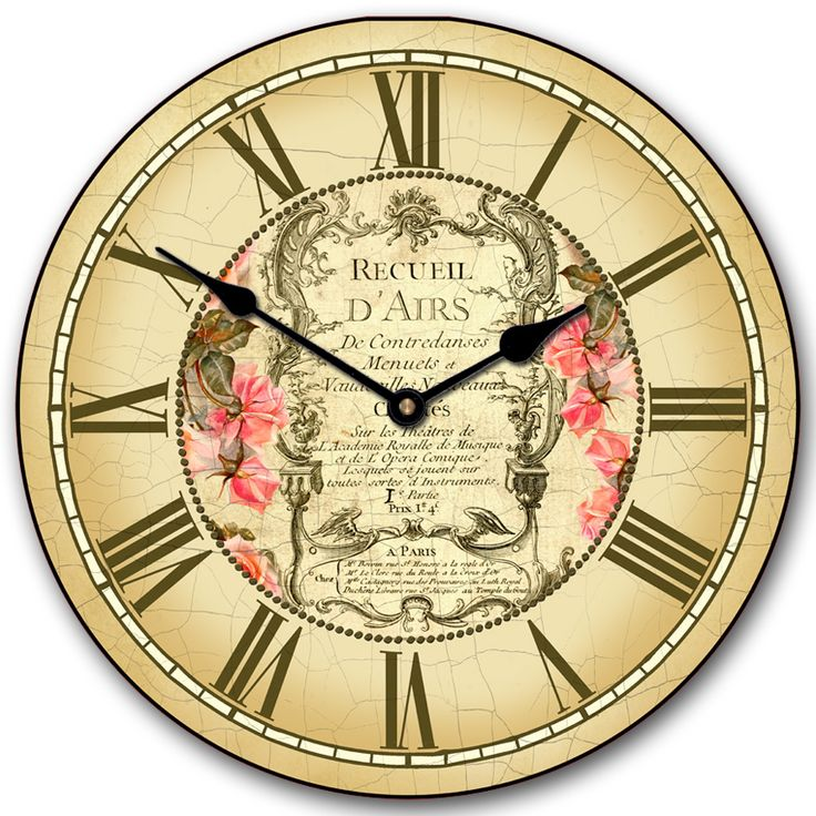 this beautiful vintage wall clock is exclusively ours handmade and one of a kind this