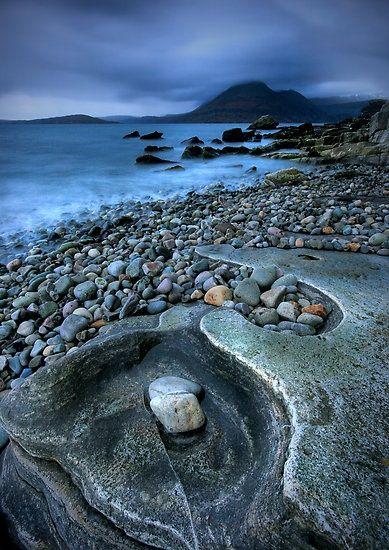 Rocky Shoreline, Isle of Skye, Scotland