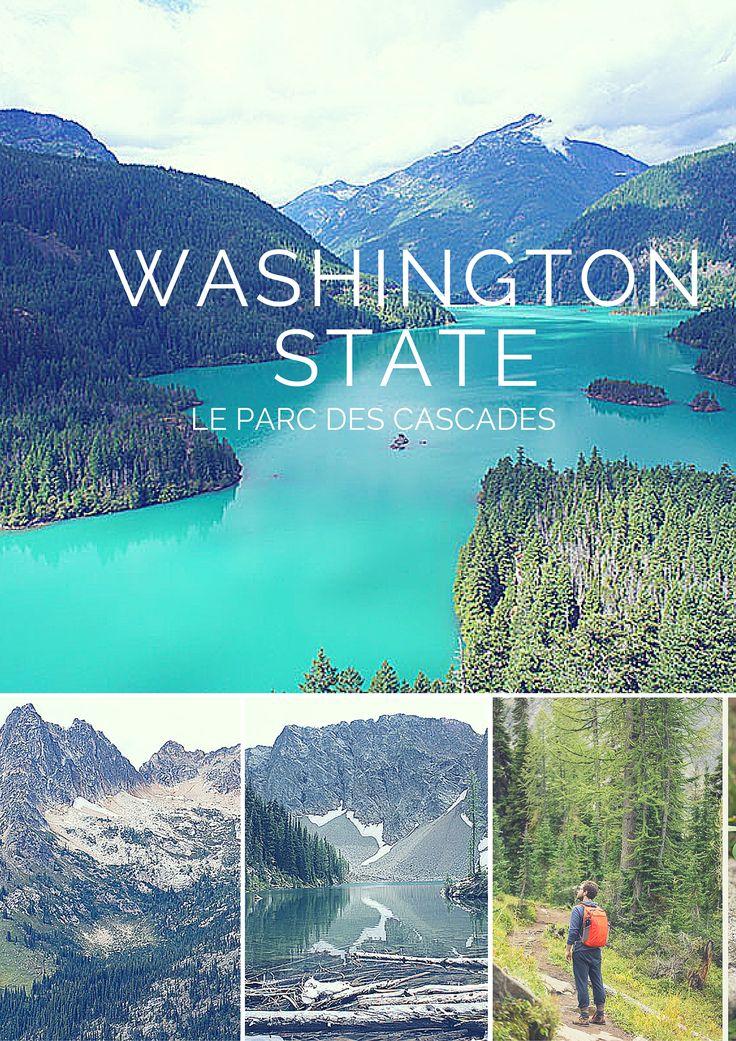 Un parc peu connu et difficile d'accès à part en randonnant : le parc américain des Cascades, dans l'Etat de Washington.