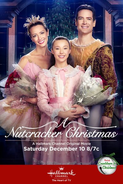A Nutcracker Christmas is a 2016 Hallmark Channel Original Movie starring Amy Acker, Sascha Radetsky, Sophia Lucia, Catherine Mary Stuart, Katherine Barrell and Kenneth Welsh. Plot: A passionate ballet dancer whose talented career was cut short due to a family tragedy finds herself reunited with the dancer she once loved, yet walked away from eight years prior. Now, they must once again team up professionally in order to save a production of 'The Nutcracker.'