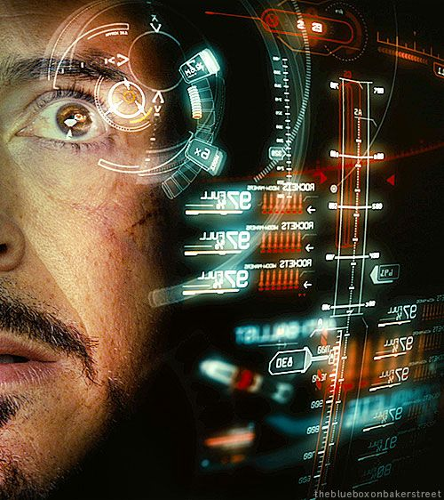 Guilty pleasure: up close views of gorgeous RDj while watching the Iron Man movies.
