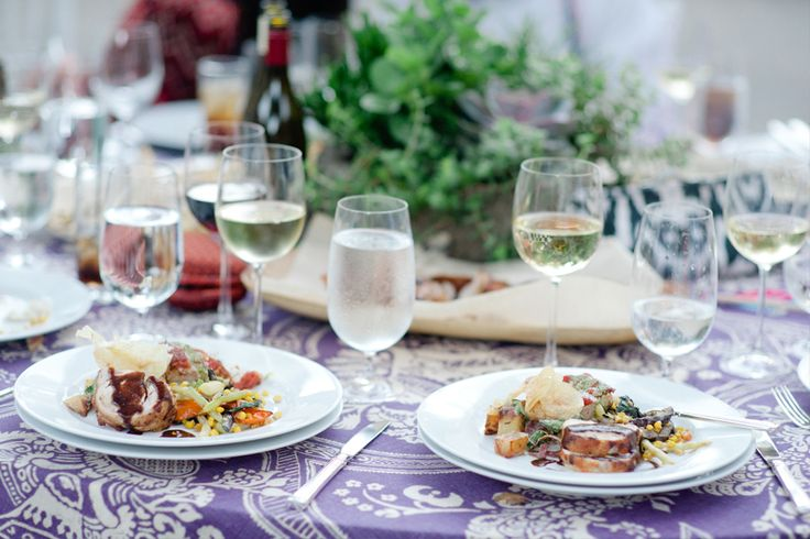 wedding dinner plates