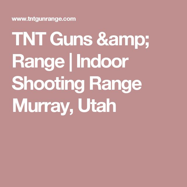 25+ Best Ideas About Indoor Shooting Range On Pinterest