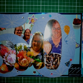50th Wooden Scrapbook Album