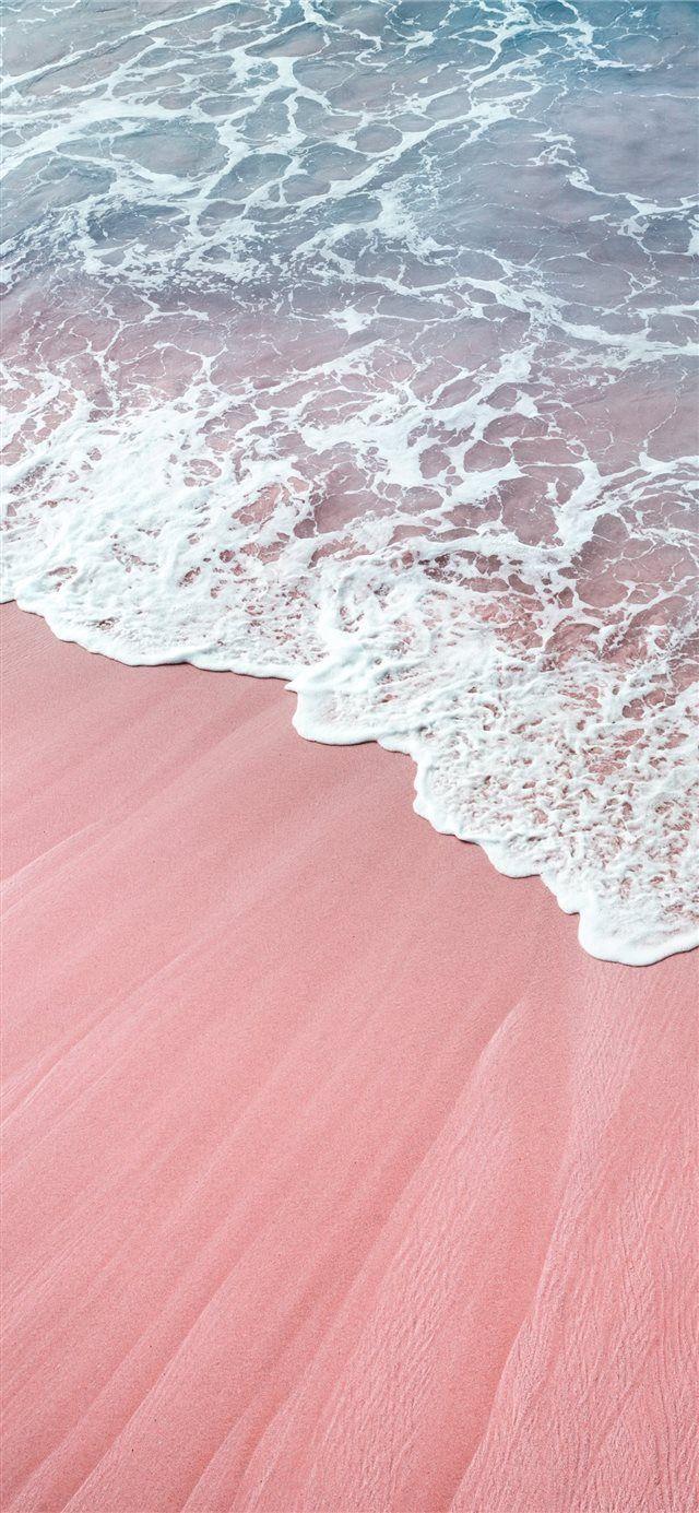 Vagues Roses Fonds D Ecran Iphone X In 2020 Waves Wallpaper Pink Wallpaper Iphone Aesthetic Iphone Wallpaper