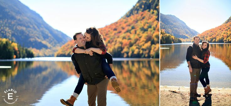 Ausable Lake Engagement Photos | Julie and Malcolm
