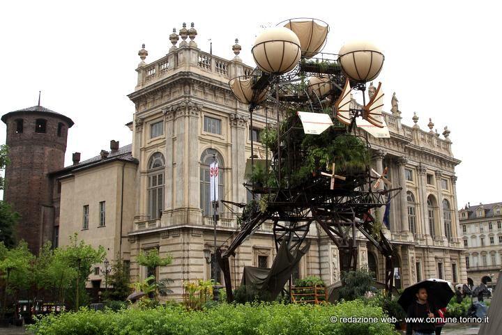 Expédition Végétale, una serra volante a Torino