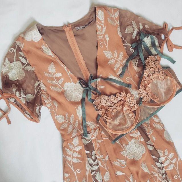 The Mia Maxi Dress & Elle Underwire Bra