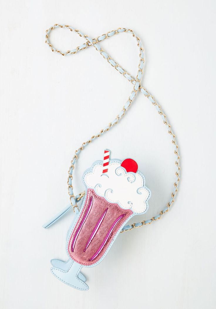 I Scream, Cute Scream Bag - Pink, Multi, Quirky, Darling, Food, Girls Night Out, Valentine's, Novelty Print, Spring, Statement
