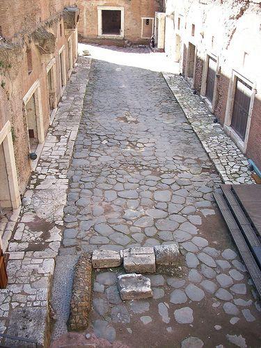 Ancient roman street