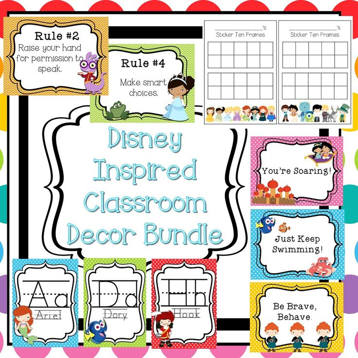 Classroom Decor Bundles ~ Best images about mickey theme on pinterest