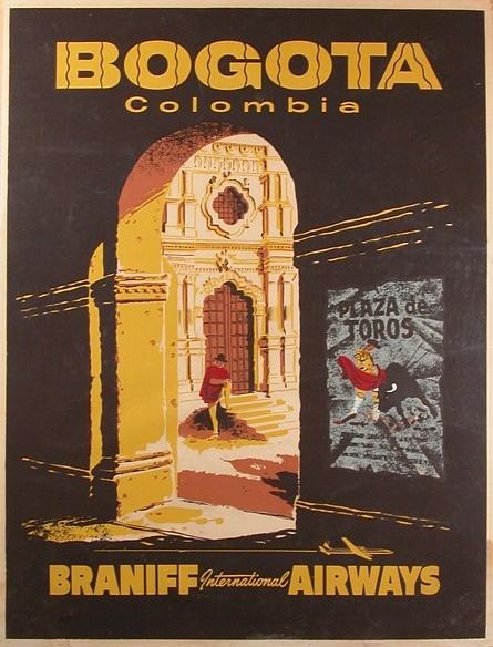 Bogota - Braniff Airways