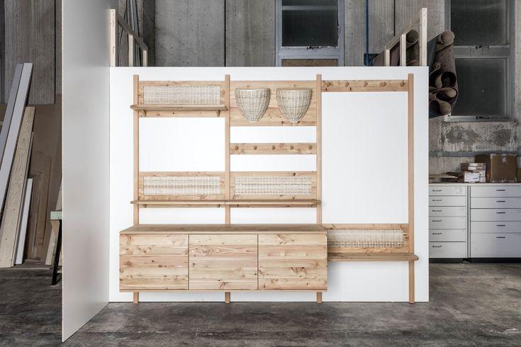 Trentino Storage by Sebastian Cox and L'Arte del Legno.