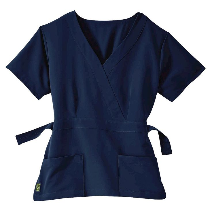 Park Ave Scrub Top Navy (Blue) 2xl