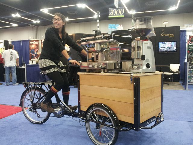 Icicle Tricycle Espresso Coffee Bike