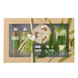 Bath Gift Set Eco Balance - Bamboo & Lemongrass by Gloss!. $30.98