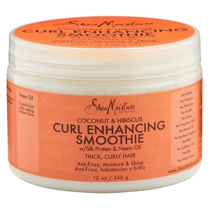 SheaMoisture Curl Enhancing Smoothie - My No' 1 staple product! I have been using this for the last few months & I love it!!