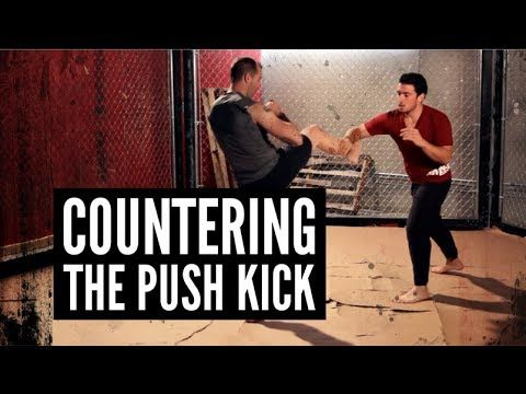 "Countering the Push Kick Andrew ""Squid"" Montañez | http://www.mmasurge.com #mma"