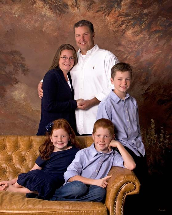 Precious family portrait.