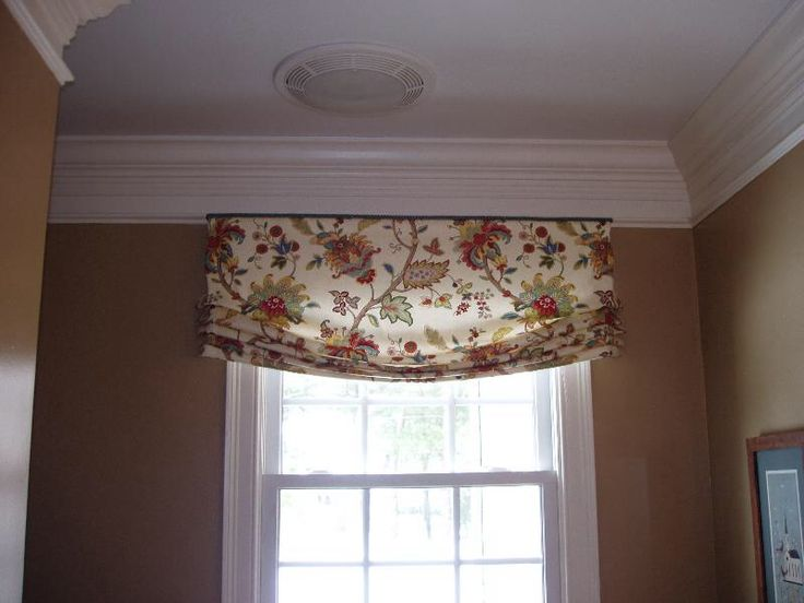 Faux Relaxed Roman Shades Pinterest