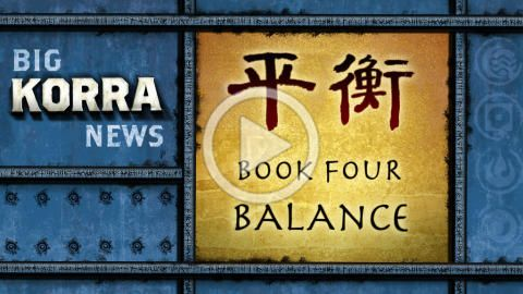 "Nickelodeon Video: Legend of Korra: ""Book 4 is Coming!"""