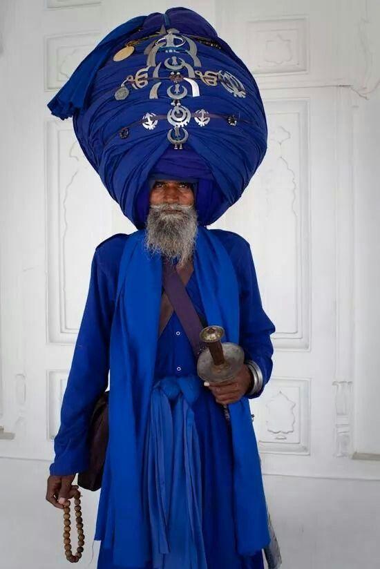 Now that's a turban!!